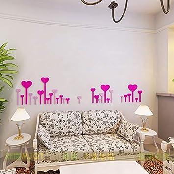 Amazon.com: RTLJN Romantic Street lamp Acrylic 3D Stereo ...