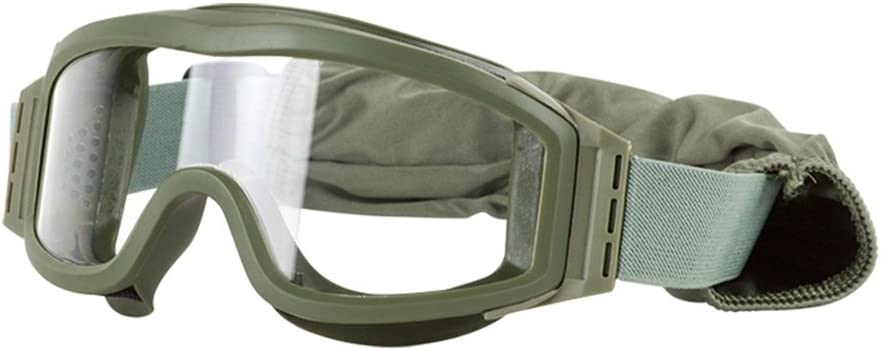 Valken Airsoft Tango Goggles With 3 Lenses Olive Frame Goggles
