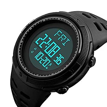 Lemumu 1295Sports Relojes Hombre Piscina Podómetro cuenta regresiva Moda Cronógrafo impermeable reloj digital Relojes de Pulsera Relogio masculino, ...