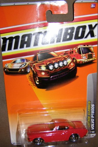 - 2010 MATCHBOX HERITAGE CLASSICS 17 OF 100 RED VOLVO P1800S by Matchbox