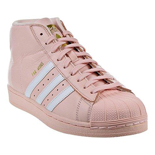 adidas Performance Herren Pro Model Basketballschuh Eis Pink / Weiß / Gold Metallic