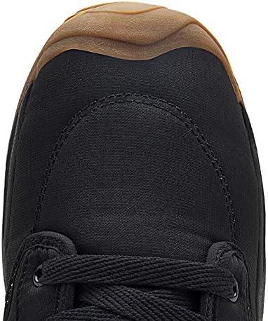 Antiscivolo Stivali da Neve Invernali, Uomo Donna Outdoor Caldi Foderato Pelliccia Camminata Trekking Sneaker Casual,B,45