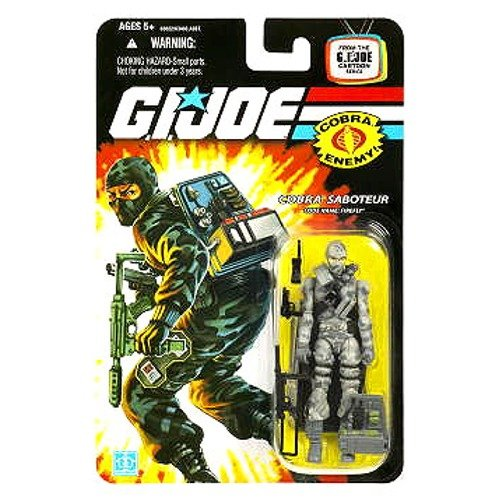 Gi Joe Cobra Saboteur Firefly Cartoon (Gi Joe Carded)