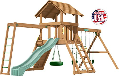 (Creative Playthings (Classic Series) Northbridge Pack 4 Swing Set Made in The)