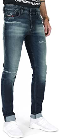 Diesel UOMO Jeans Sleenker-X BLU Scuro Mod. 00SWJE 0097P