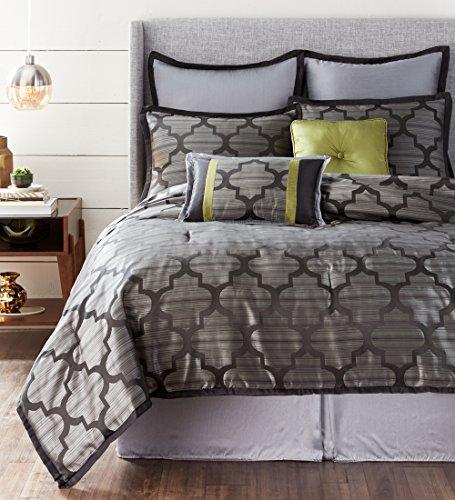 - Nanshing ALHAMBRA8-K Alhambra Collection Bedroom Comforter Complete 8 Piece Set, King, Multicolor