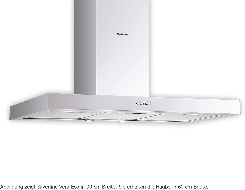 Silverline VEW 653.2 E Vera Eco - Campana extractora de pared (59,8 cm): Amazon.es: Grandes electrodomésticos