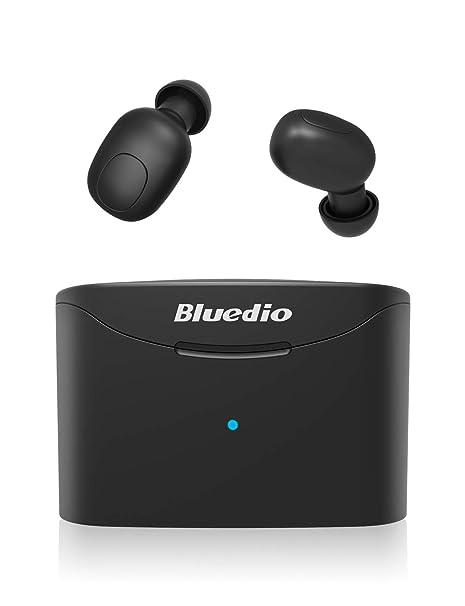 141fa29b679 Bluedio T Elf True Wireless Earbuds Headphones, 35Hrs Bluetooth 5.0 Auto  Pairing in-Ear