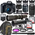 Canon EOS Rebel T7i DSLR Camera with 18-55mm Lens Bundle Reviews