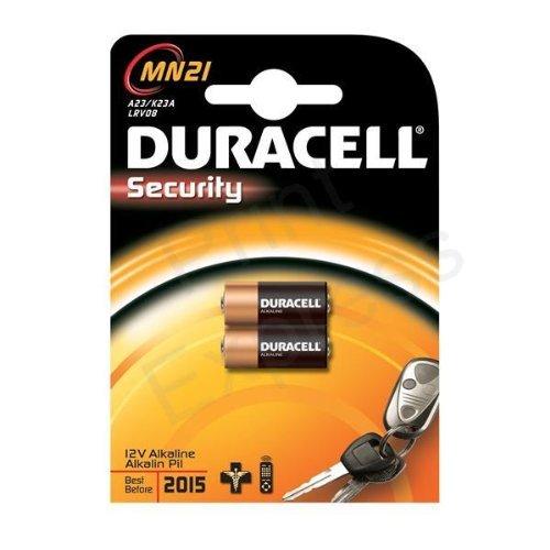 176 opinioni per Batterie Duracell MN21-Confezione da 2 pezzi 2 confezioni