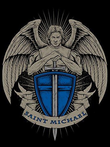 Saint Michael Poster Thin Blue Line Police Motivation