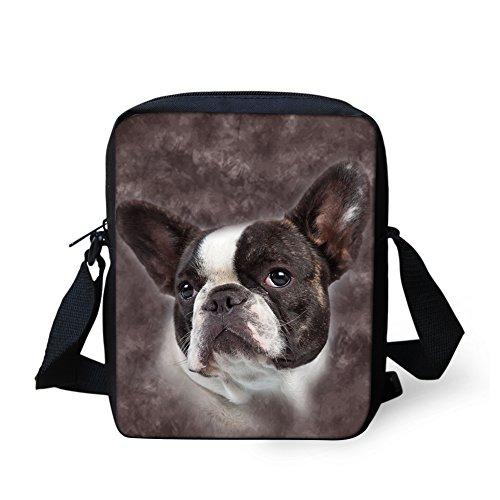 Print Phone Adjustable Mini Women Bag Bulldog Shoulder HUGS Handbag Monkey Cross Strap Body Bag Pouch Girl IDEA Cell fwvqWRqZz