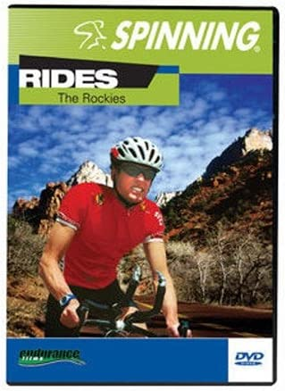 SPINNING® Fitness DVD Rides The Rockies - Bicicletas estáticas ...