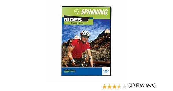 SPINNING® Fitness DVD Rides The Rockies - Bicicletas estáticas Fitness (Interior), Color n/a, Talla NA: Amazon.es: Deportes y aire libre