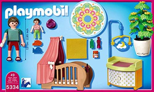 Playmobil 5334 rosa habitaci n del beb for Playmobil chambre bebe