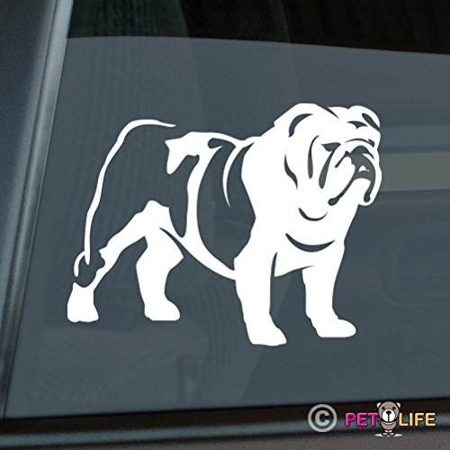 British Bulldog Sticker Vinyl Auto Window english