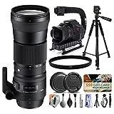 Sigma 150-600mm F5-6.3 DG OS HSM   C Lens for Nikon + Starter Plus Accessory Kit