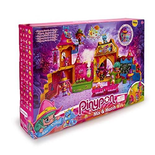 Pinypon Escuela de Brujitas Set de juguete y accesorios con 1 figura para niños y niñas de 4 a 8 años Famosa 700015074