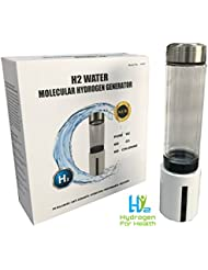 H2 Hydrogen Rich Water Bottle With SPE PEM Technology