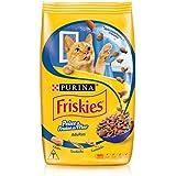 Nestlé Purina Friskies Ração Seca Para Gatos Adultos Peixes E Frutos Do Mar 3Kg