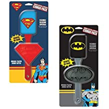 Batman vs Superman DC Comics Character Cookie Cutter and Spatula - Combo Pack by ICUP