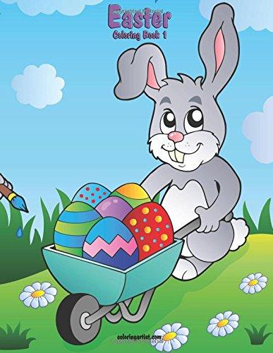Easter Coloring Book 1 (Volume 1) [Snels, Nick] (Tapa Blanda)