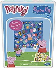 Hasbro Pictureka! Junior Peppa Pig Game, Picture Game, Fun Board Game for Preschoolers, Games for 4 Year Olds