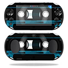 MightySkins Protective Vinyl Skin Decal for Sony PS Vita (Wi-Fi 2nd Gen) wrap cover sticker skins Cassette Tape