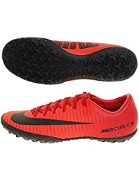 Men's MercurialX Victory VI TF Turf Soccer Cleat (Red,...