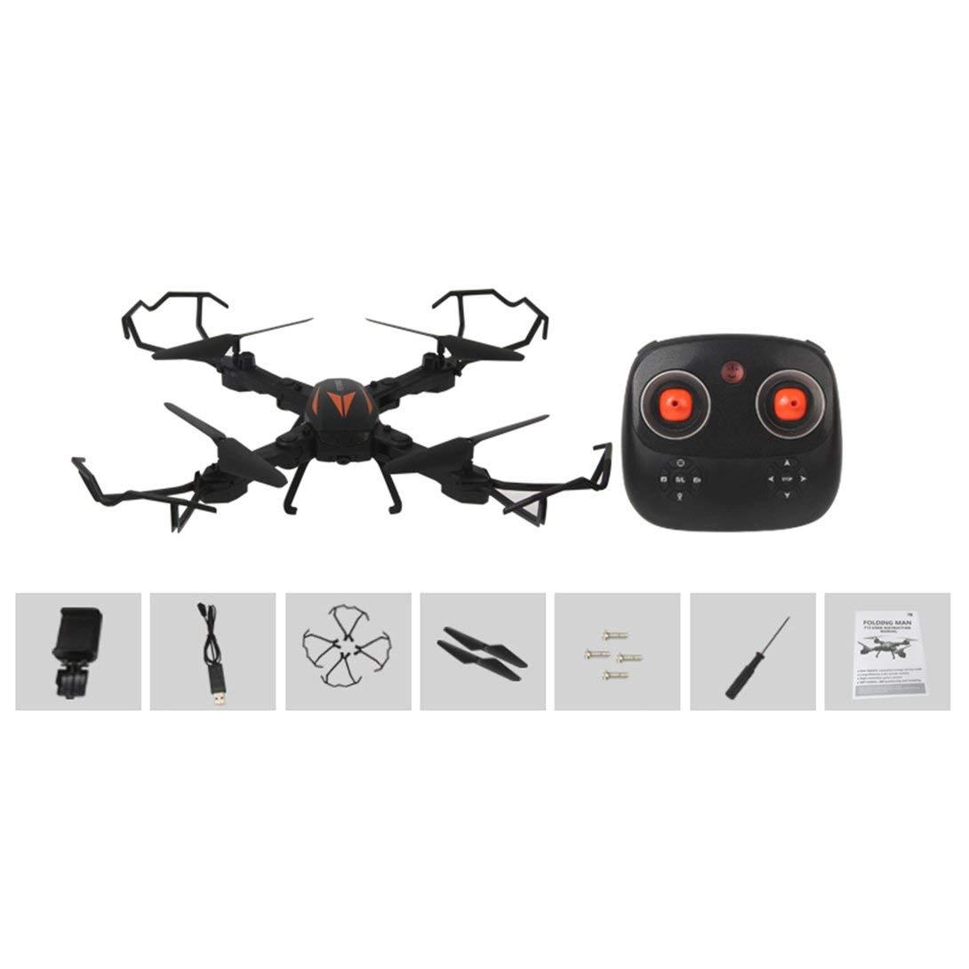 Swiftswan F12W Mini Selfie RC Faltbare Quadcopter Drohne mit WiFi FPV Drohne 720P Einstellbare Kamera Höhe Halten Sie eine Taste Return RTF