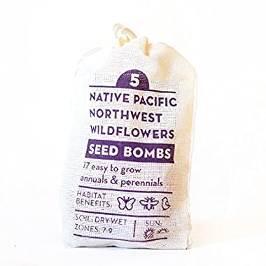Native Pacific Northwest Seed Bombs