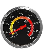 siwetg Termometr ze stali nierdzewnej z funkcją wędzenia, wskaźnik temperatury 10 – 400 ℃