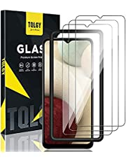 [3 Pack] TQLGY Screen Protector Compatible for Samsung Galaxy A12 / A32 5G, Tempered Glass, HD Clear [Easy Installation Frame] [Anti-Scratch] [Case Friendly] [Bubble Free]