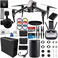 DJI Inspire 2 Premium Combo with Zenmuse X5S and CinemaDNG and Apple ProRes Licenses Videographer 120G PRO Bundle
