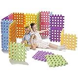 UNiPLAY (UB02 - Soft Building Blocks, 6Piece Multi Color Infant Safe BPA Free
