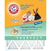 Arm & Hammer AF-AH1625.4 Enhanced Air Filter, 16-Inch by 25-Inch by 1-Inch, 4-Pack