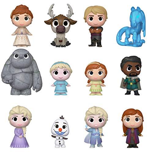 Funko- Mystery Mini Cajita misteriosa, incluye algun personaje de Frozen 2, Multicolor (40908) , color/modelo surtido
