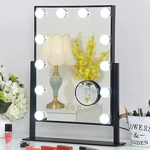 FENCHILIN Lighted Makeup Mirror