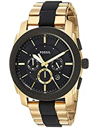 Fossil Men's Quartz Stainless Steel Casual Watch, Color:Gold-Toned (Model: FS5261)