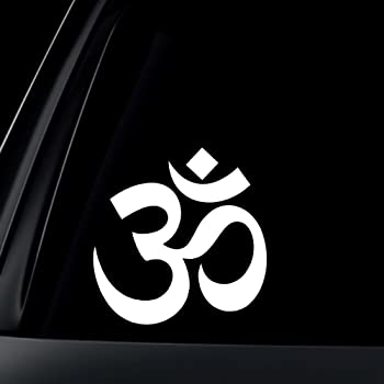 Amazon Om Ohm Symbol Car Decal Sticker Automotive