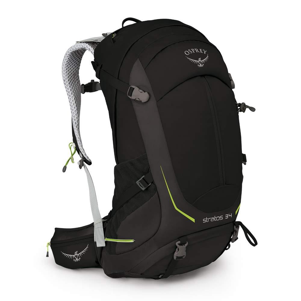 Osprey Stratos 34 Men's Ventilated Hiking Pack B01IJKZ2IC Stirnlampen Neue Produkte im Jahr 2018
