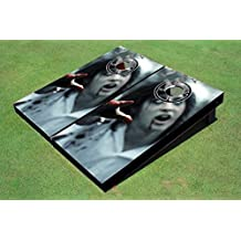Handmade Cornhole Game Set, 200+ Designs Available, 1x4, 2x3 and 2x4 Sizes Available, ACA, Wood, Made in the USA