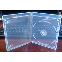 New 12.5 mm Clear Viva Elite Blu-ray Single Disc Case Standard Size Hold 1 Disc (25 Pcs a Pack)