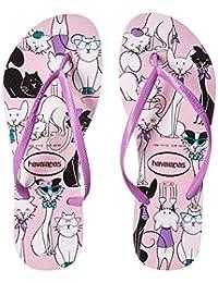 Amazon.com.mx  Rosa - Sandalias de Piso   Zapatos  Ropa 720d29830d8