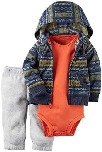 Carter's Baby Boys 3-Piece Little Hoodie Jacket Set