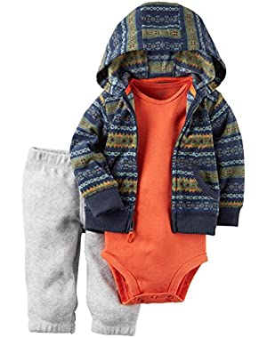 Carter's Baby Boys Cardigan Sets 121g784, Navy, NB