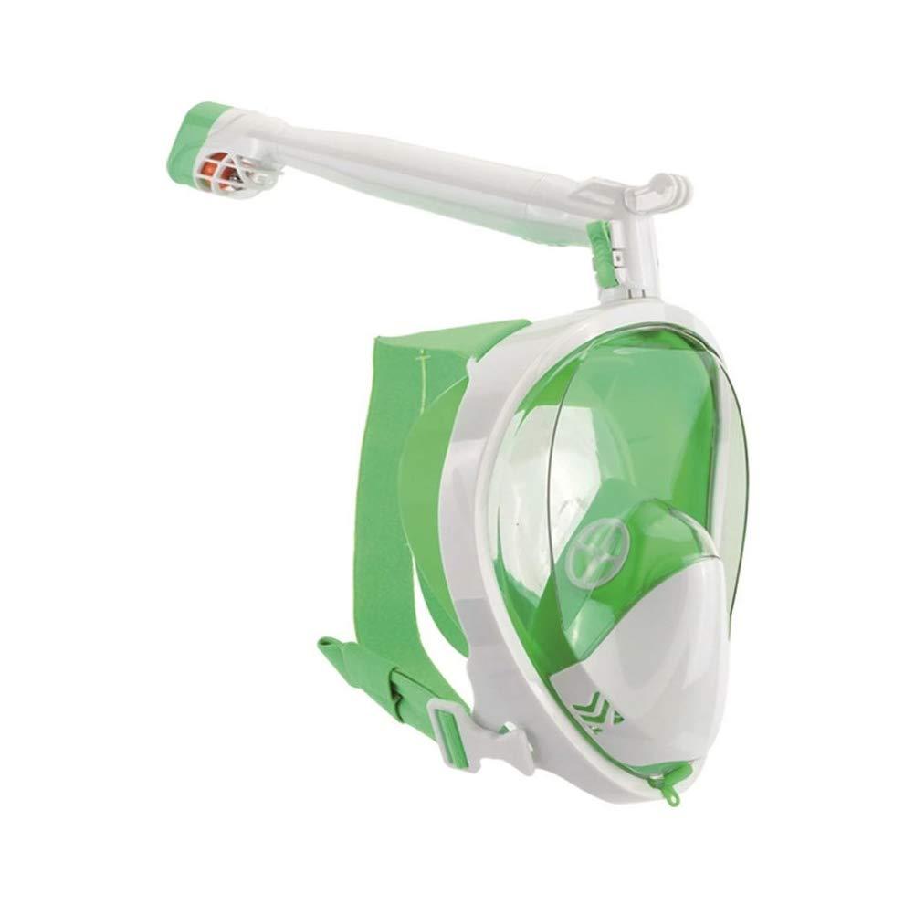 X-grand Tik Masque de plongée en apnée Full Face for Adult Youth and Enfants 180 Degree Panoramic View Anti-Fog - Anti-Leak Gopro Compatible Snorkeling Set,2,XL