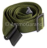 AmmoGarand M1 Garand Two Point Rifle Sling Nylon OD Green USGI