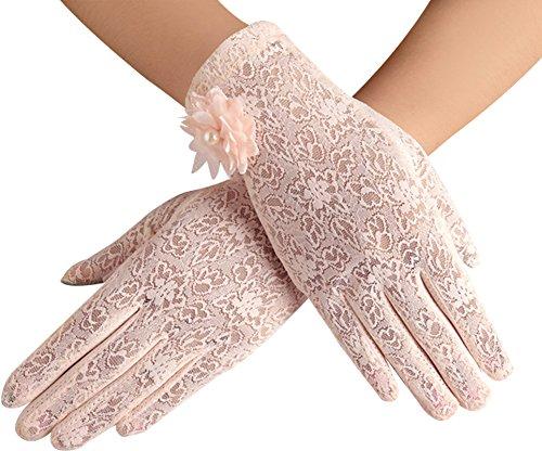 Women Cotton Anti-skid Gloves Sunproof Summer Thin Driving Gloves