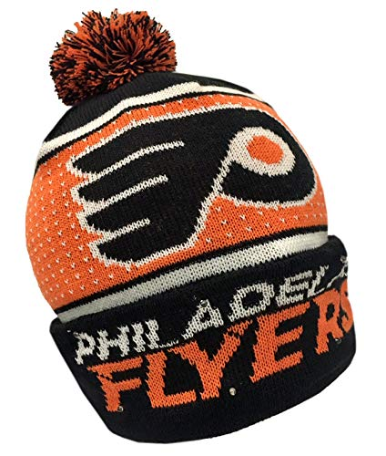 Forever Collectibles NHL Philadelphia Flyers Big Logo Knit Light Up Beanie Hat